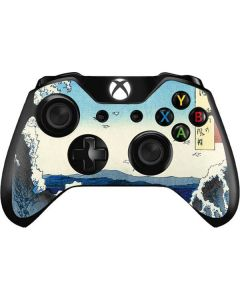 View of the Naruto whirlpools at Awa Xbox One Controller Skin