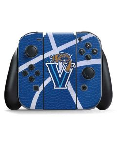 Villanova Basketball Print Nintendo Switch Joy Con Controller Skin