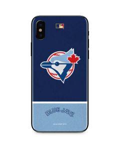 Vintage Blue Jays iPhone XS Skin