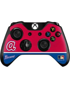 Vintage Braves Xbox One Controller Skin
