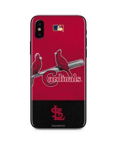 Vintage Cardinals iPhone XS Skin