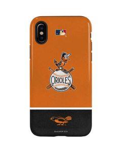 Vintage Orioles iPhone X Pro Case
