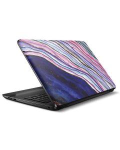 Violet Watercolor Geode HP Notebook Skin