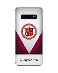 Virginia Tech Emblem Galaxy S10 Plus Skin