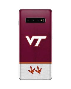 Virginia Tech Galaxy S10 Plus Skin