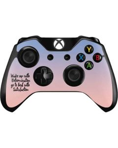 Wake Up With Determination Xbox One Controller Skin