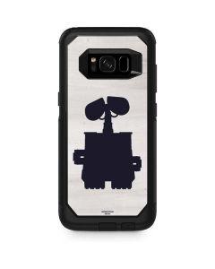 WALL-E Silhouette Otterbox Commuter Galaxy Skin