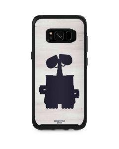 WALL-E Silhouette Otterbox Symmetry Galaxy Skin
