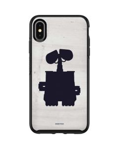 WALL-E Silhouette Otterbox Symmetry iPhone Skin