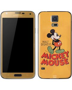 Walt Disney Mickey Mouse Galaxy S5 Skin