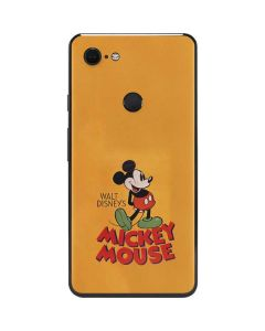 Walt Disney Mickey Mouse Google Pixel 3 XL Skin