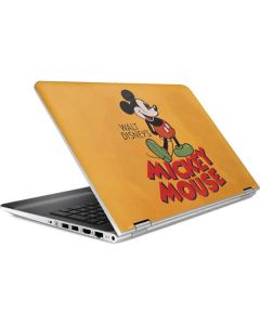 Walt Disney Mickey Mouse HP Pavilion Skin