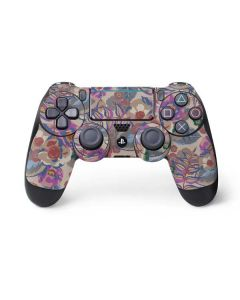 Warm Taupe Floral PS4 Pro/Slim Controller Skin