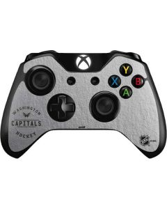 Washington Capitals Black Text Xbox One Controller Skin