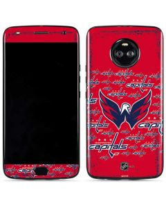Washington Capitals Blast Moto X4 Skin