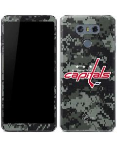 Washington Capitals Camo LG G6 Skin