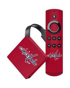 Washington Capitals Distressed Amazon Fire TV Skin