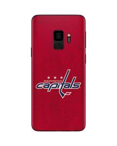 Washington Capitals Distressed Galaxy S9 Skin