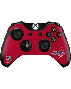Washington Capitals Distressed Xbox One Controller Skin