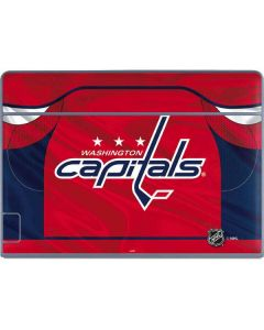 Washington Capitals Home Jersey Galaxy Book Keyboard Folio 12in Skin
