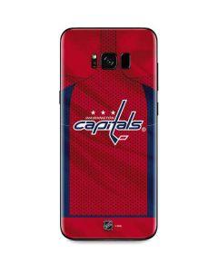Washington Capitals Home Jersey Galaxy S8 Skin