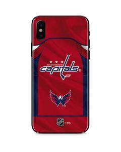 Washington Capitals Home Jersey iPhone XS Skin