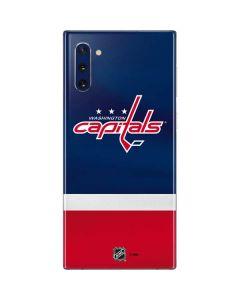 Washington Capitals Jersey Galaxy Note 10 Skin