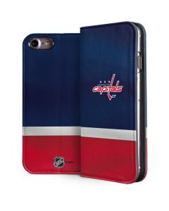 Washington Capitals Jersey iPhone 7 Folio Case