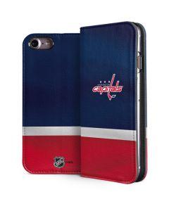 Washington Capitals Jersey iPhone 8 Folio Case
