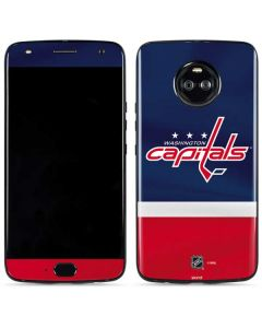 Washington Capitals Jersey Moto X4 Skin