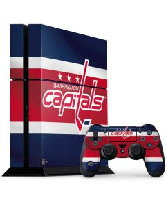Washington Capitals Jersey PS4 Console and Controller Bundle Skin
