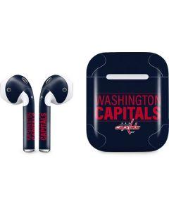 Washington Capitals Lineup Apple AirPods Skin