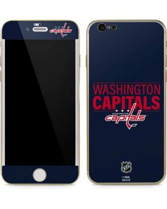 Washington Capitals Lineup iPhone 6/6s Skin