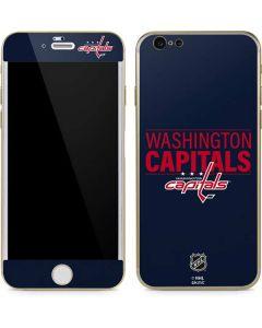 Washington Capitals Lineup iPhone 6/6s Skin