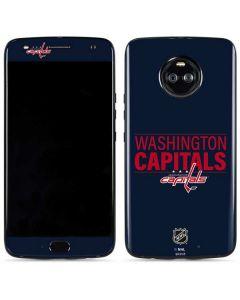 Washington Capitals Lineup Moto X4 Skin