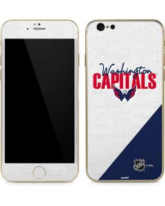 Washington Capitals Script iPhone 6/6s Skin