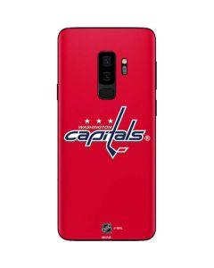 Washington Capitals Solid Background Galaxy S9 Plus Skin