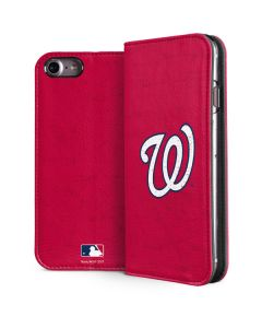 Washington Nationals - Solid Distressed iPhone 8 Folio Case