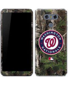 Washington Nationals Realtree Xtra Green Camo LG G6 Skin
