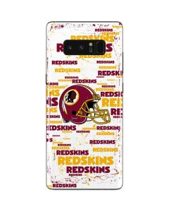 Washington Redskins - Blast Galaxy Note 8 Skin