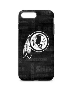 Washington Redskins Black & White iPhone 8 Plus Pro Case