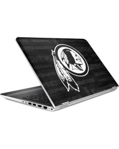 Washington Redskins Black & White HP Pavilion Skin