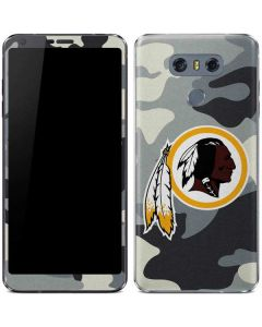 Washington Redskins Camo LG G6 Skin