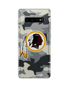 Washington Redskins Camo Galaxy S10 Plus Skin