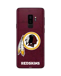 Washington Redskins Distressed Galaxy S9 Plus Skin