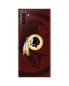 Washington Redskins Double Vision Galaxy Note 10 Skin