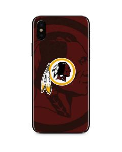 Washington Redskins Double Vision iPhone X Skin