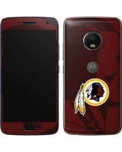 Washington Redskins Double Vision Moto G5 Plus Skin