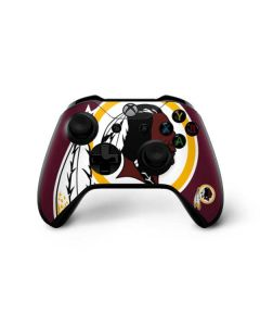Washington Redskins Large Logo Xbox One X Controller Skin