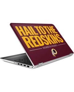 Washington Redskins Team Motto HP Pavilion Skin